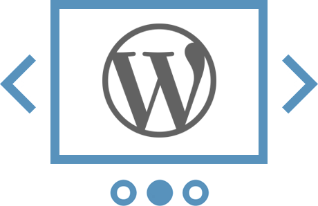 Слайдер из стандартной фотогалереи WordPress