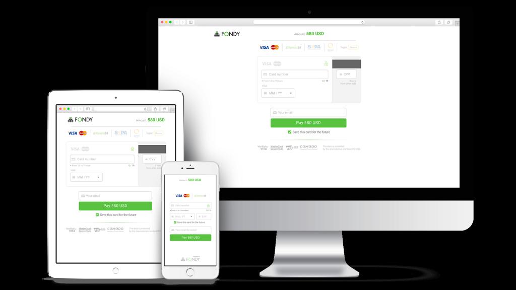 Fondy — удобная платёжная система для вашего интернет-магазина / сайта / приложения